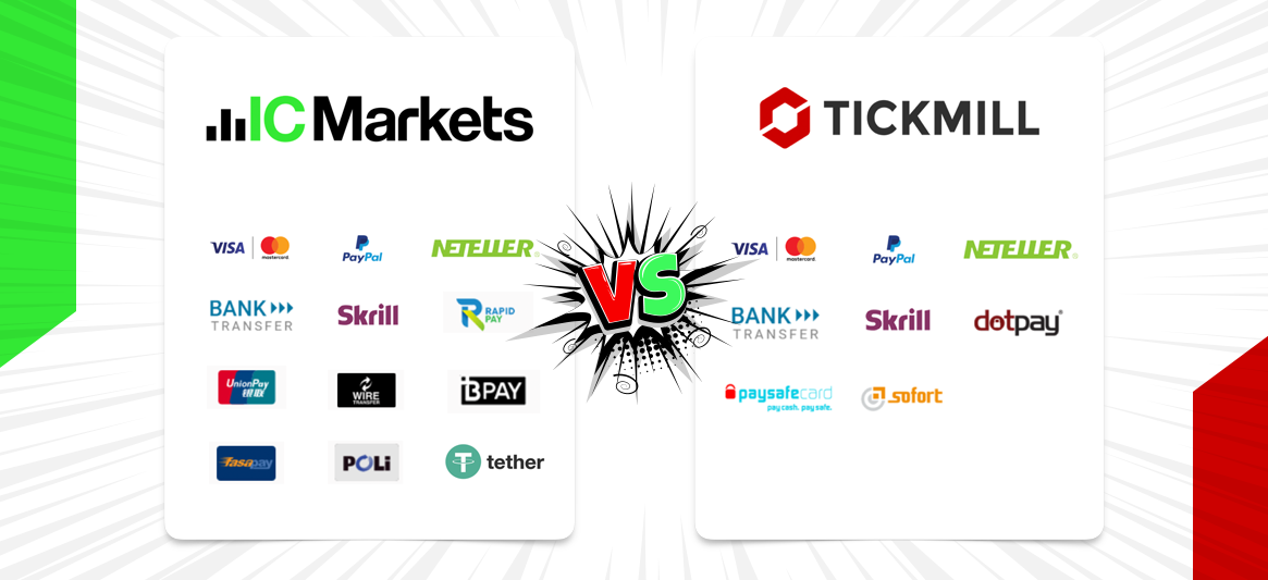 IC Markets vs Tickmill | which one is the better forex broker?