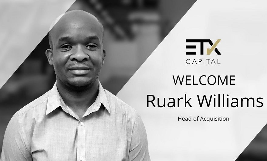 ETX Capital hires Ruark Williams as Head of Acquisition