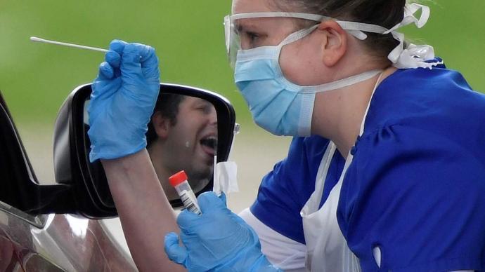 检测 利物浦 新冠 病例 英国 全城