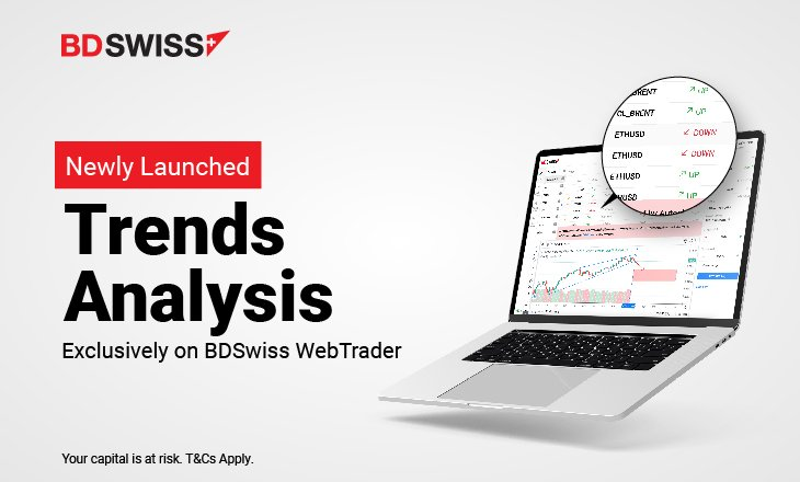 BDSwiss Group launches Trends Analysis Tool on its WebTrader Platform