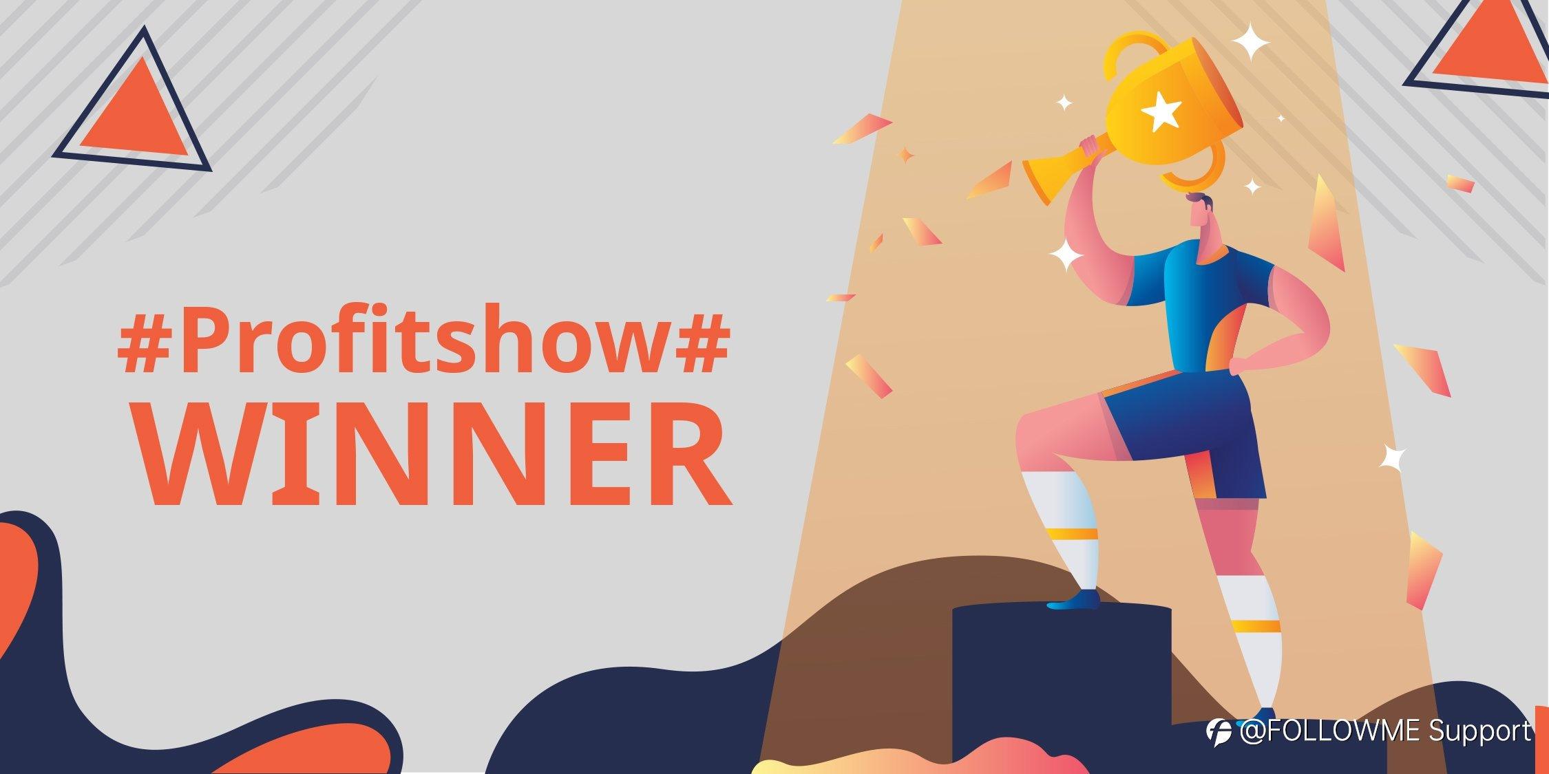 Featured #Profitshow# Winners of the Second Week!