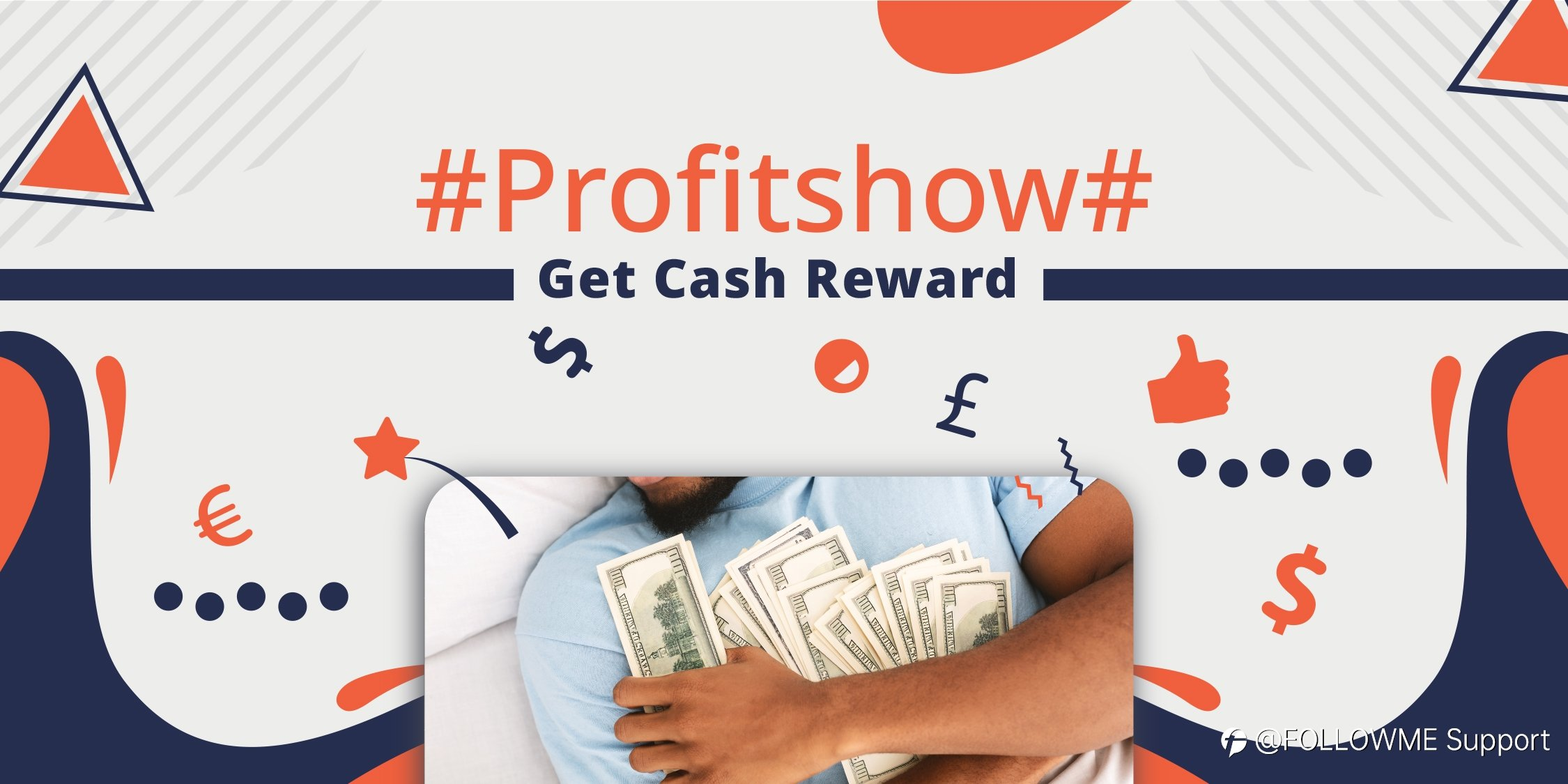 The right way to show your profit- #Profitshow# campaign notice