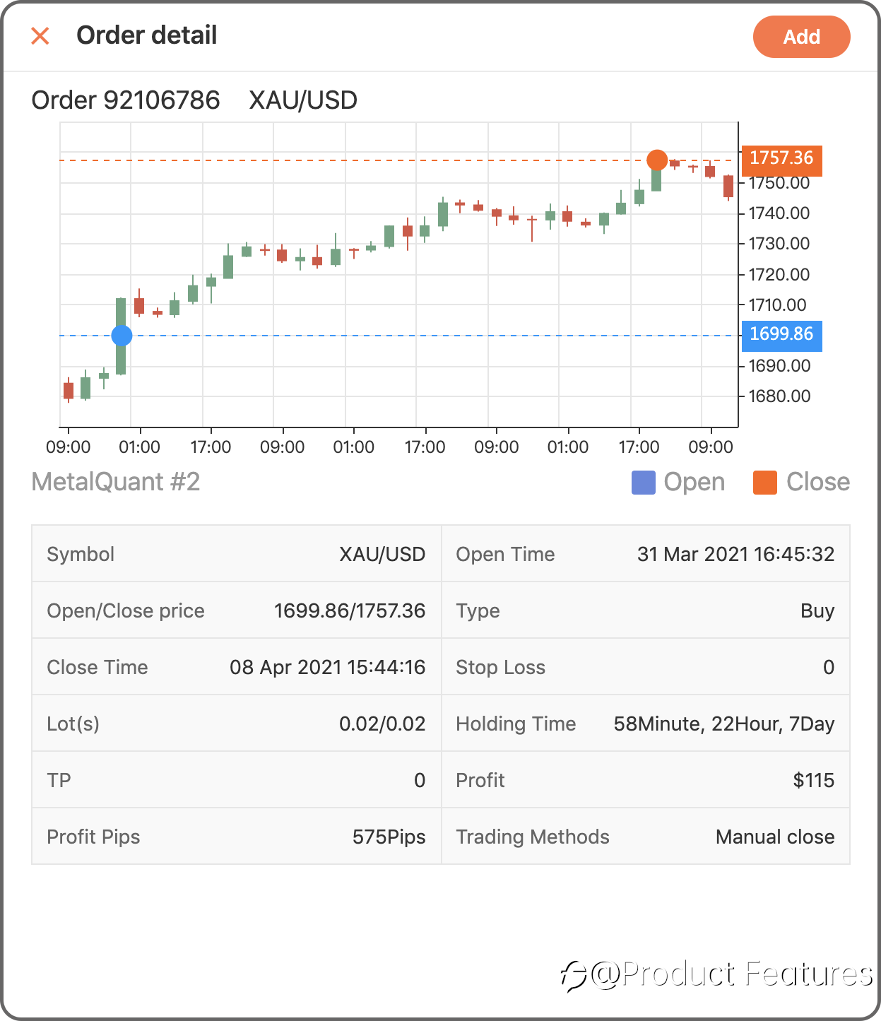 How to Add Trading Order or Trading Record