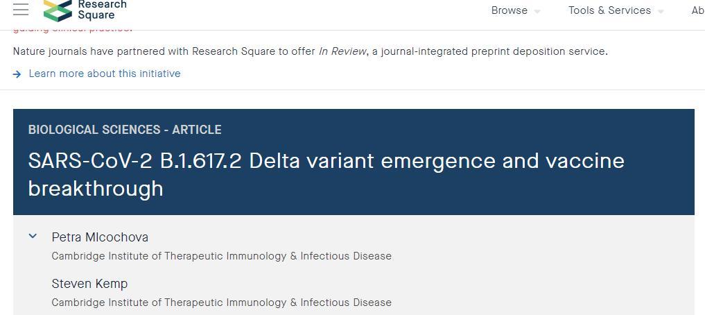 传播 病毒 变体 疫苗 免疫 变异